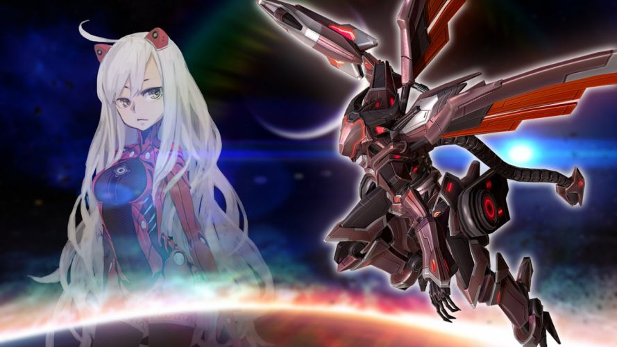 ASTEBREED sci-fi anime shooter fantasy action fighting mecha wallpaper