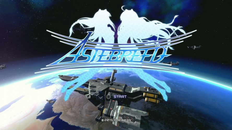 ASTEBREED sci-fi anime shooter fantasy action fighting mecha poster wallpaper