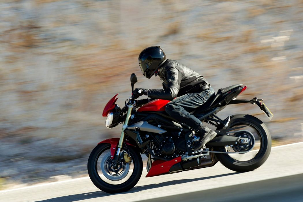 2016 Triumph Street Triple bike motorbike motorcycle wallpaper