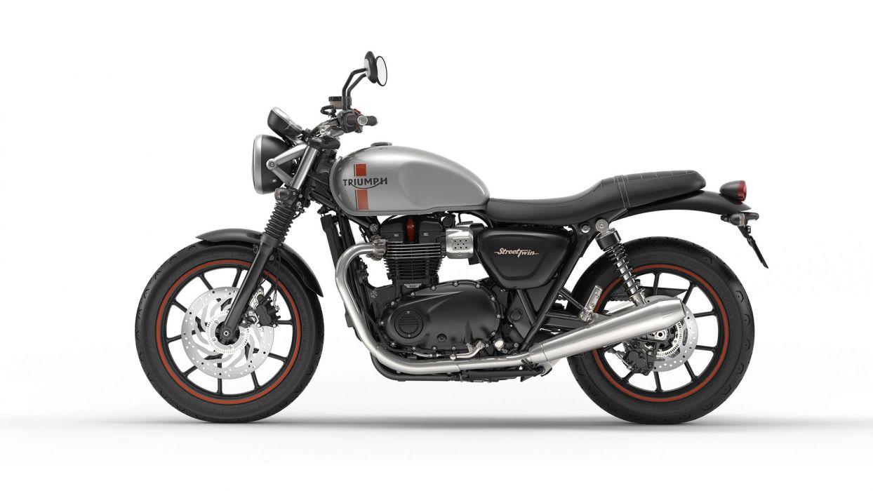 2016 Triumph Street Twin bike motorbike motorcycle wallpaper
