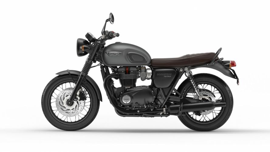 2016 Triumph Bonneville T120 Black bike motorbike motorcycle wallpaper