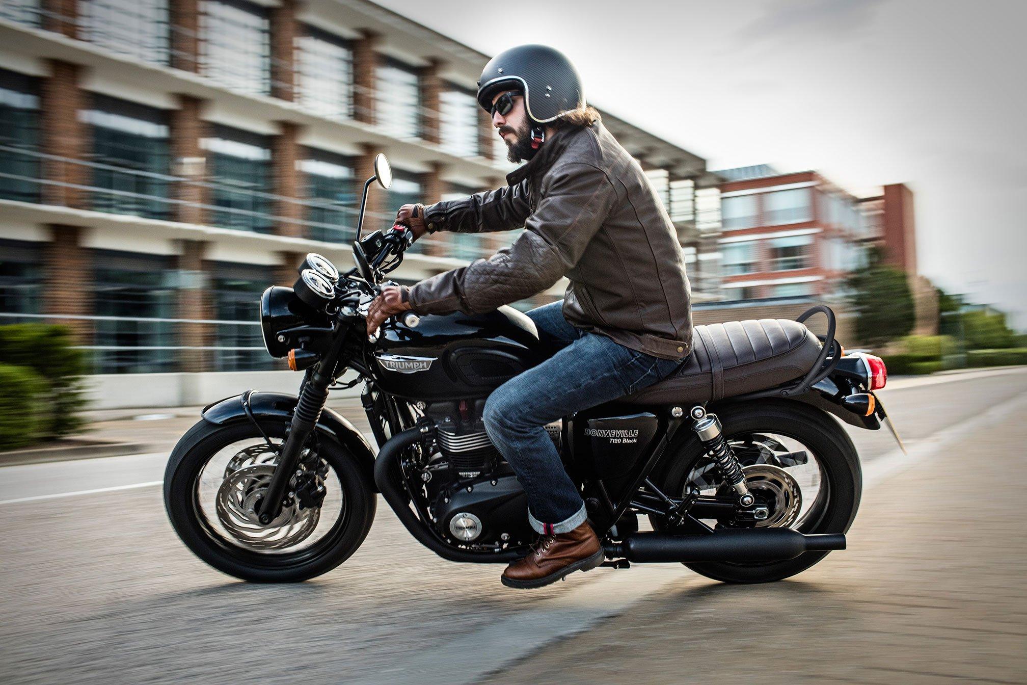 2016 triumph bonneville t120 black bike motorbike motorcycle