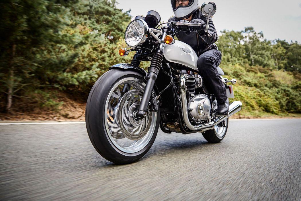 2016 Triumph Thruxton 1200 bike motorbike motorcycle wallpaper