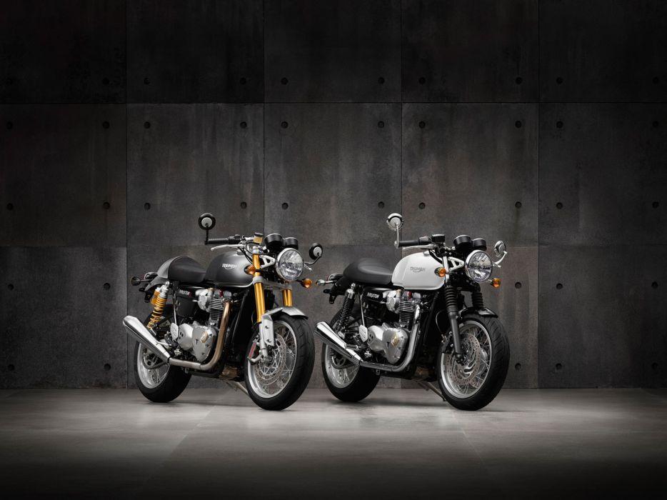 2016 Triumph Thruxton 1200R bike motorbike motorcycle wallpaper
