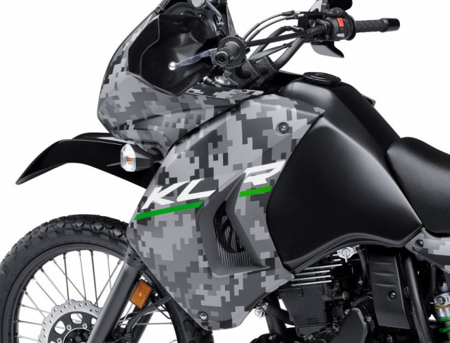 2016 Kawasaki KLR650 Camo bike motorbike motorcycle dirtbike wallpaper