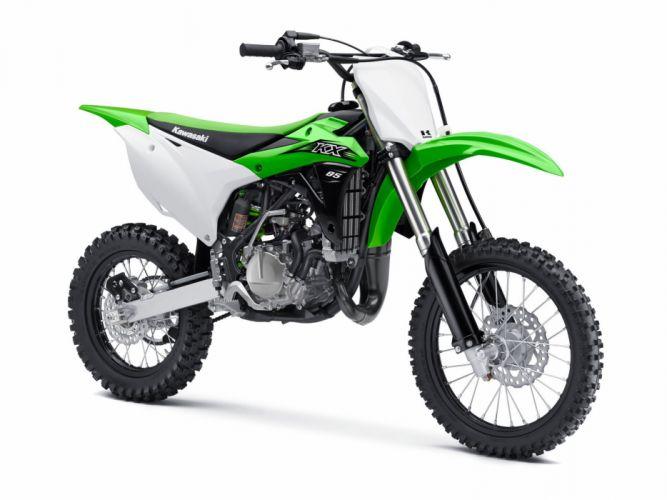 2016 Kawasaki KX85 bike motorbike motorcycle dirtbike motocross offroad race racing wallpaper
