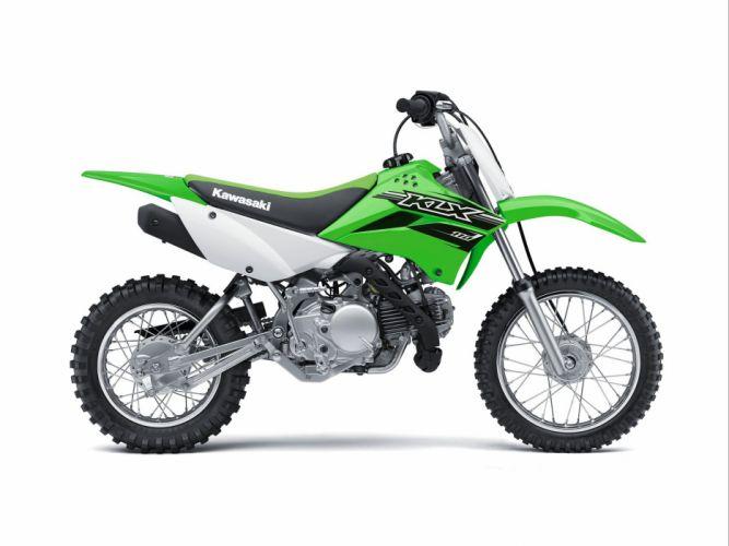 2016 Kawasaki KLX110 bike motorbike motorcycle dirtbike motocross offroad race racing wallpaper