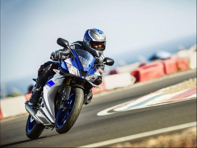 2016 Yamaha YZF-R125 bike motorbike motorcycle wallpaper
