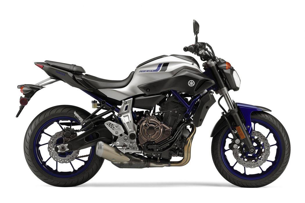 2016 Yamaha FZ-07 bike motorbike motorcycle wallpaper