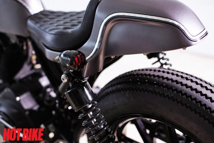 HARLEY DAVIDSON cafe racer motorbike custom bike motorcycle poster wallpaper