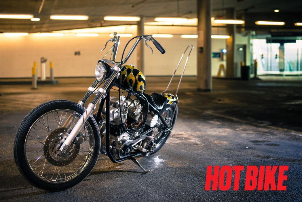 CHOPPER motorbike custom bike motorcycle hot rod rods poster harley davidson wallpaper