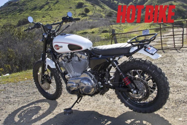 SCRAMBLER dirtbike offroad motorbike custom bike motorcycle hot rod rods poster harley davidson wallpaper
