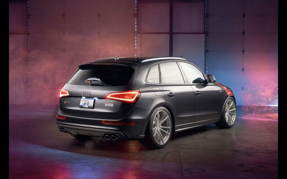 2016 H&R Springs Audi SQ5 cars modified wallpaper