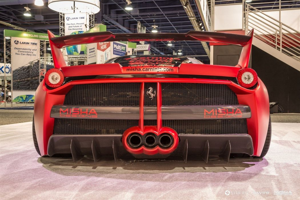 Ferrari 458 gtb Misha Designs cars coupe modified tuning red wallpaper