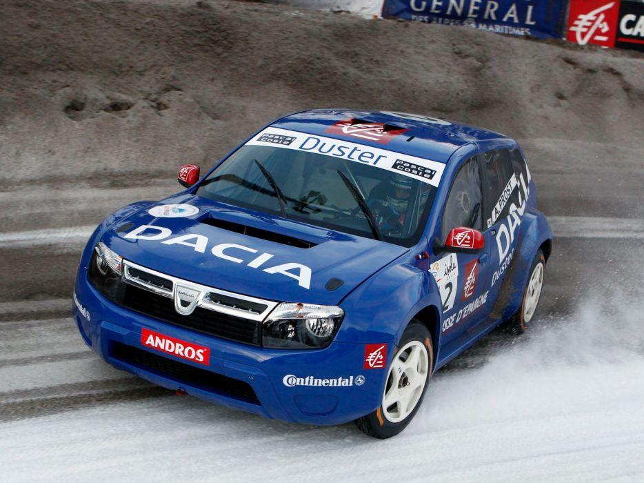 2009 Dacia Duster Trophee Andros race racing wallpaper