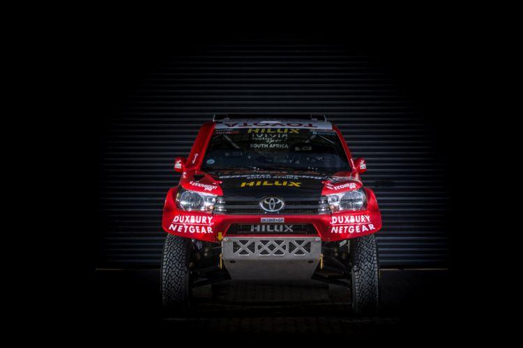2016 Toyota Hilux Rally Dakar race racing offroad wallpaper