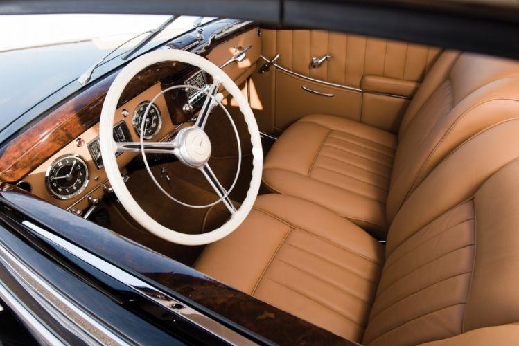 1952 Mercedes Benz 220 Cabriolet A W187 luxury retro wallpaper