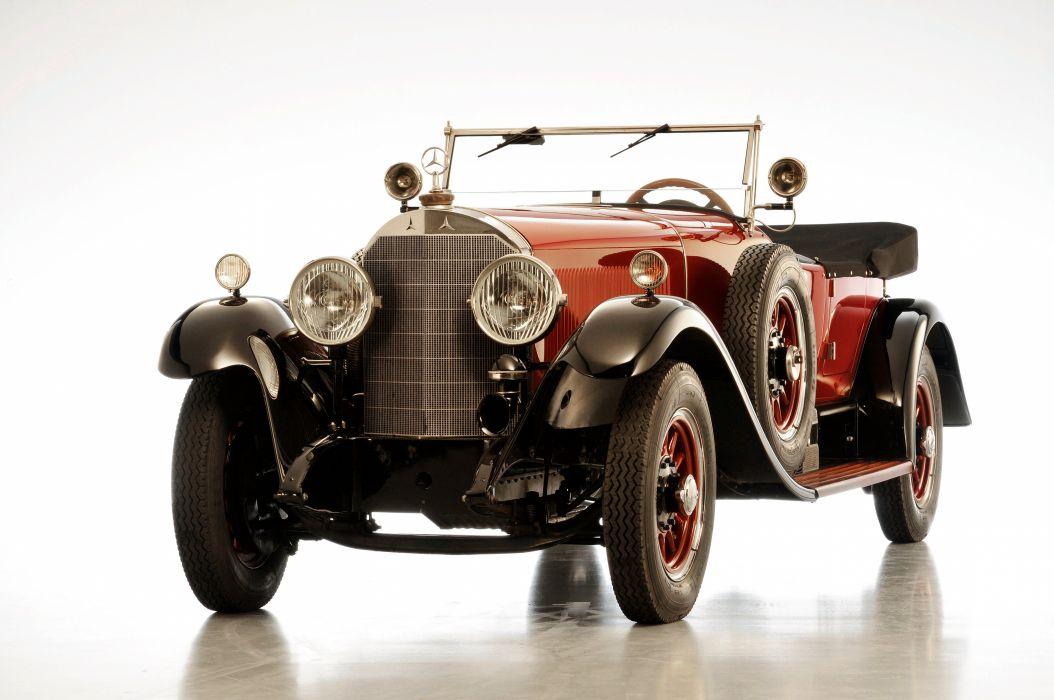 1930 Mercedes Benz 630K Tourer luxury retro vintage wallpaper