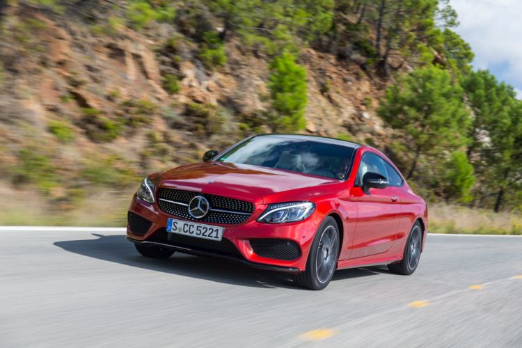 2015 Mercedes Benz C250 d Coupe AMG C205 wallpaper