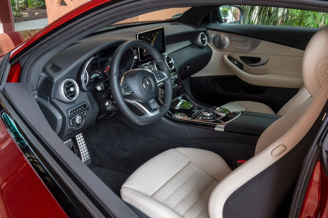 2015 Mercedes Benz C250 d Coupe AMG C205 wallpaper