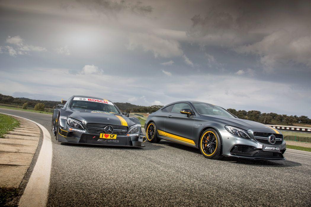 2014 AMG Mercedes Benz C-Klasse 205 race racing wallpaper