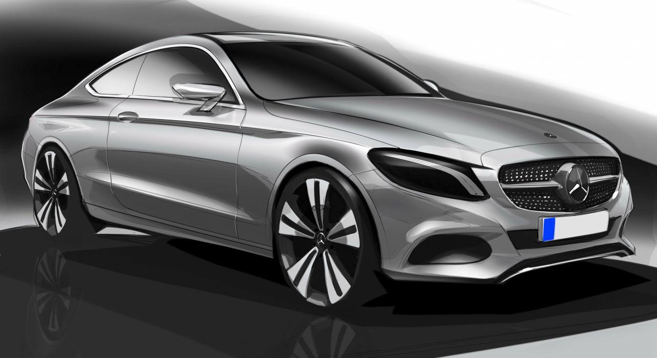2017 Mercedes Benz C-Klasse Coupe C205 wallpaper
