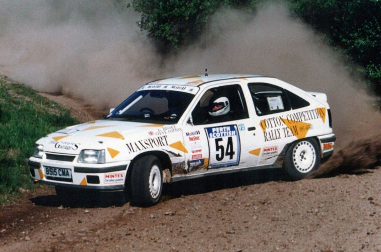 1983 Vauxhall Astra GTE Rally race racing wallpaper