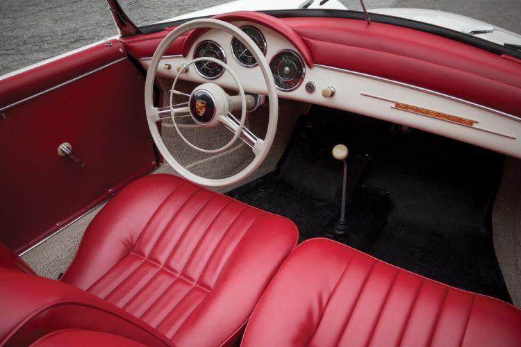1955-57 Porsche 356A 1600 Speedster Reutter T-1 retro wallpaper