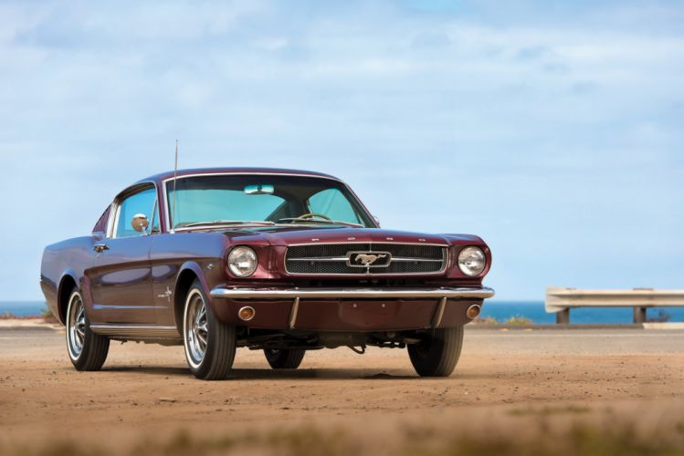 1965 Ford Mustang A-Code 289 225HP Fastback 63A muscle classic wallpaper