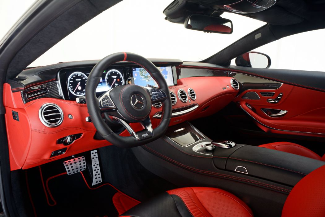 2015 Brabus Mercedes Benz S63 AMG Coupe C217 tuning wallpaper