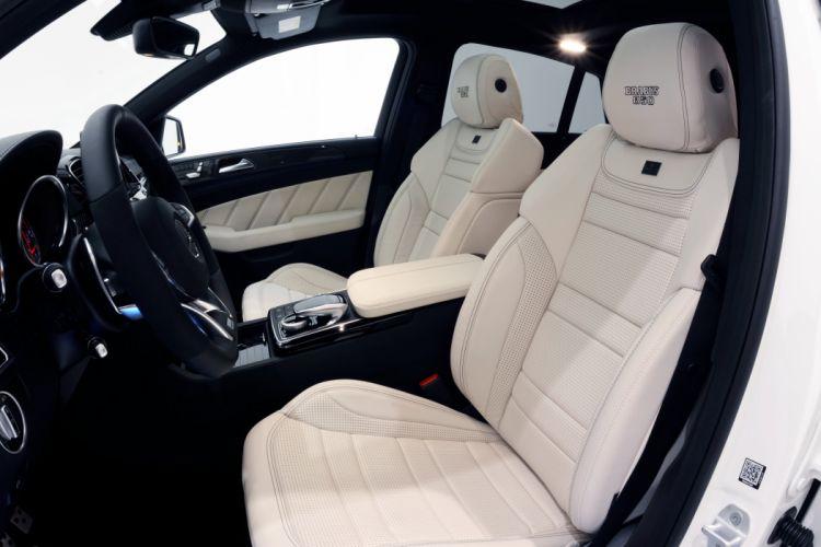 2015 Brabus Mercedes Benz AMG GLE63 4MATIC Coupe C292 suv stationwagon tuning wallpaper