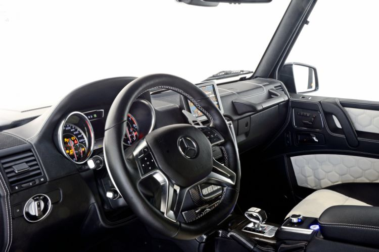 2015 Mercedes Benz Brabus G850 6-0 Biturbo Widestar W463 suv luxury tuning awd wallpaper