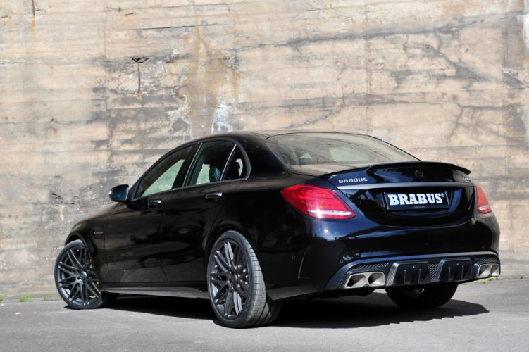 2015 Brabus Mercedes Benz AMG C63 S W205 luxury tuning wallpaper