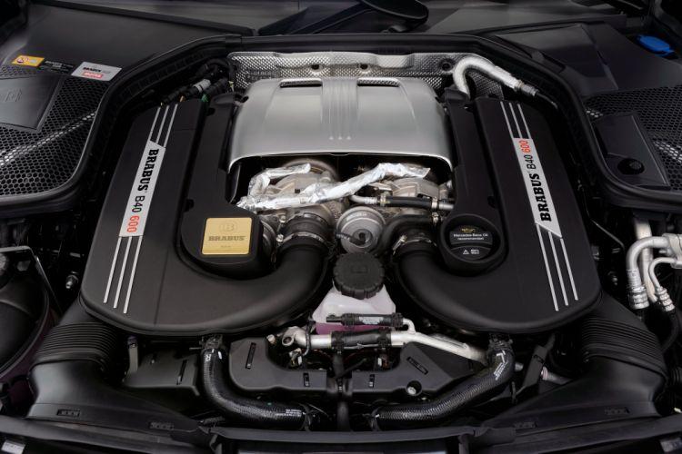 2015 Brabus Mercedes Benz AMG C63 S W205 luxury tuning wallpaper