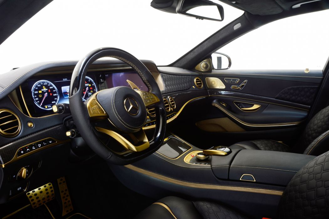 2015 Brabus Mercedes Benz Rocket 900 DESERT-GOLD W222 tuning luxury wallpaper
