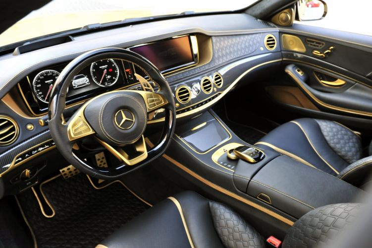 2015 Brabus Mercedes Benz Rocket 900 DESERT-GOLD W222 tuning luxury wallpaper
