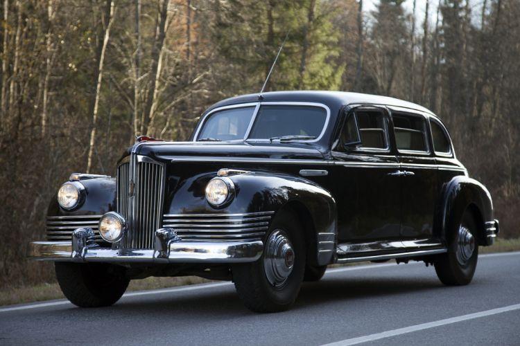 1948 ZIS 115 luxury retro limosuine wallpaper