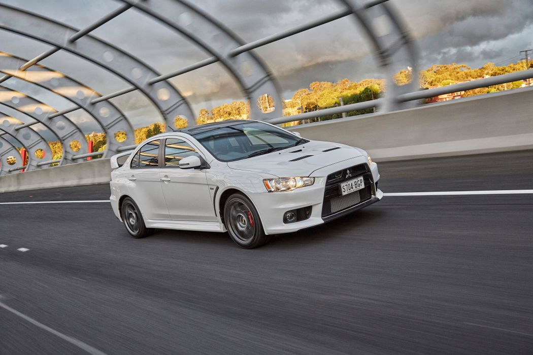 2015 Mitsubishi Lancer Evolution-X Final-Edition AU-spec wallpaper