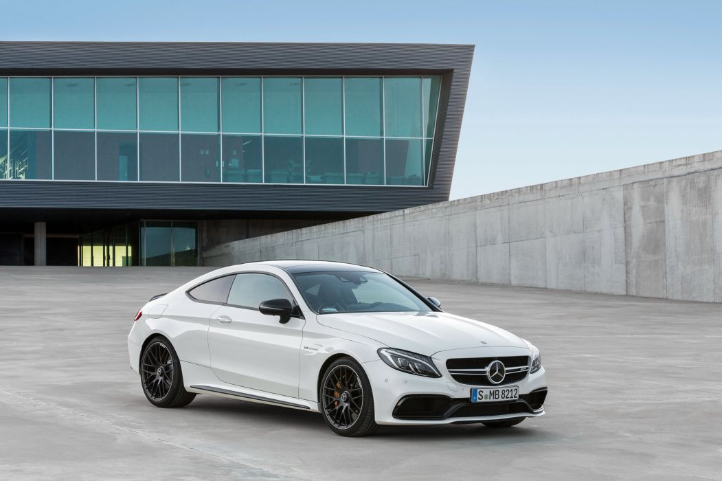 2016 Mercede Benz AMG C63 S Coupe C205 luxury wallpaper