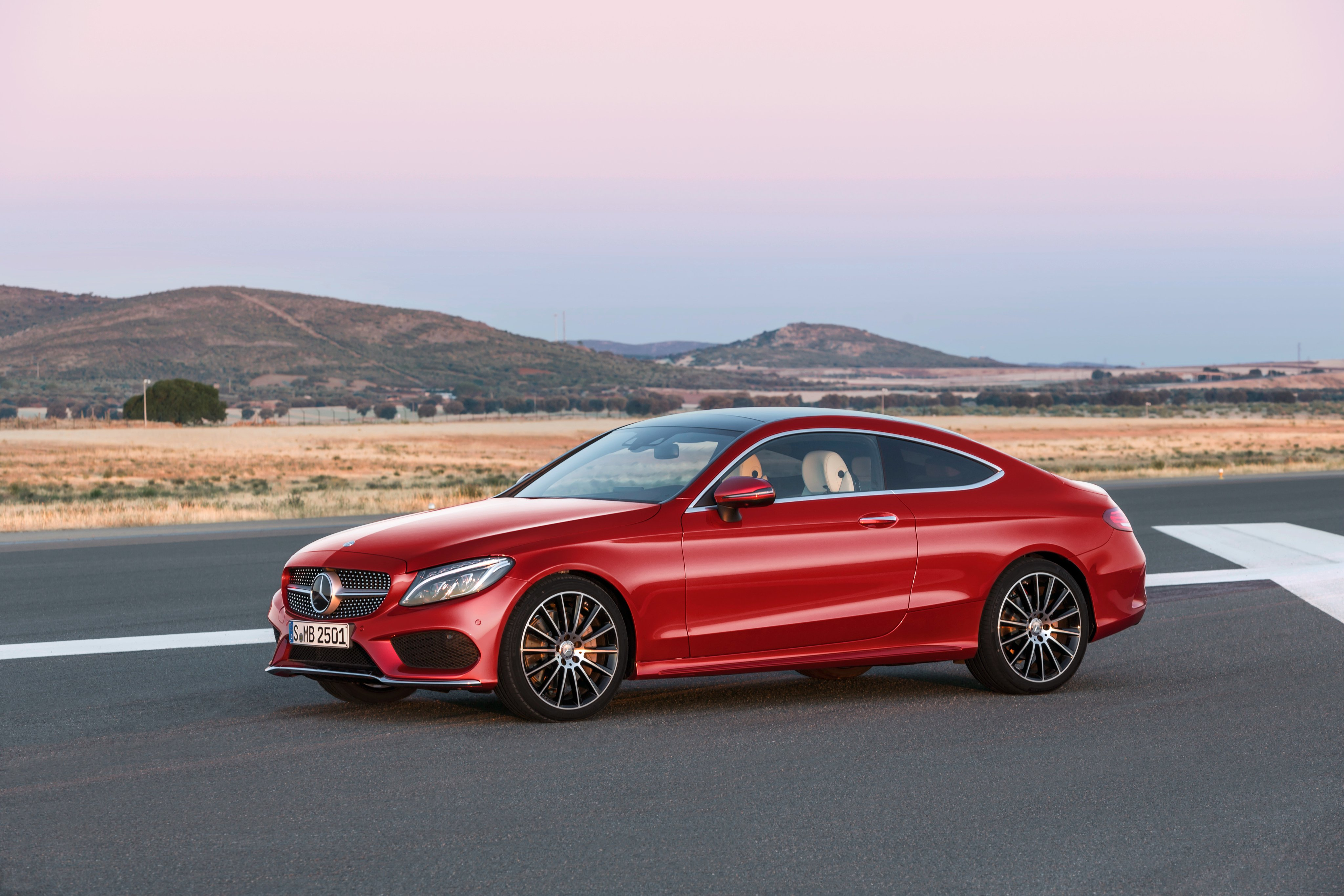 2017 Mercedes Benz C250 D 4MATIC Coupe AMG C205 Luxury