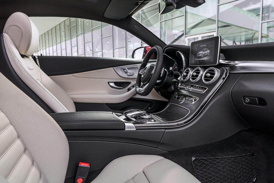 2017 Mercedes Benz C250 D 4matic Coupe Amg C205 Luxury Wallpaper