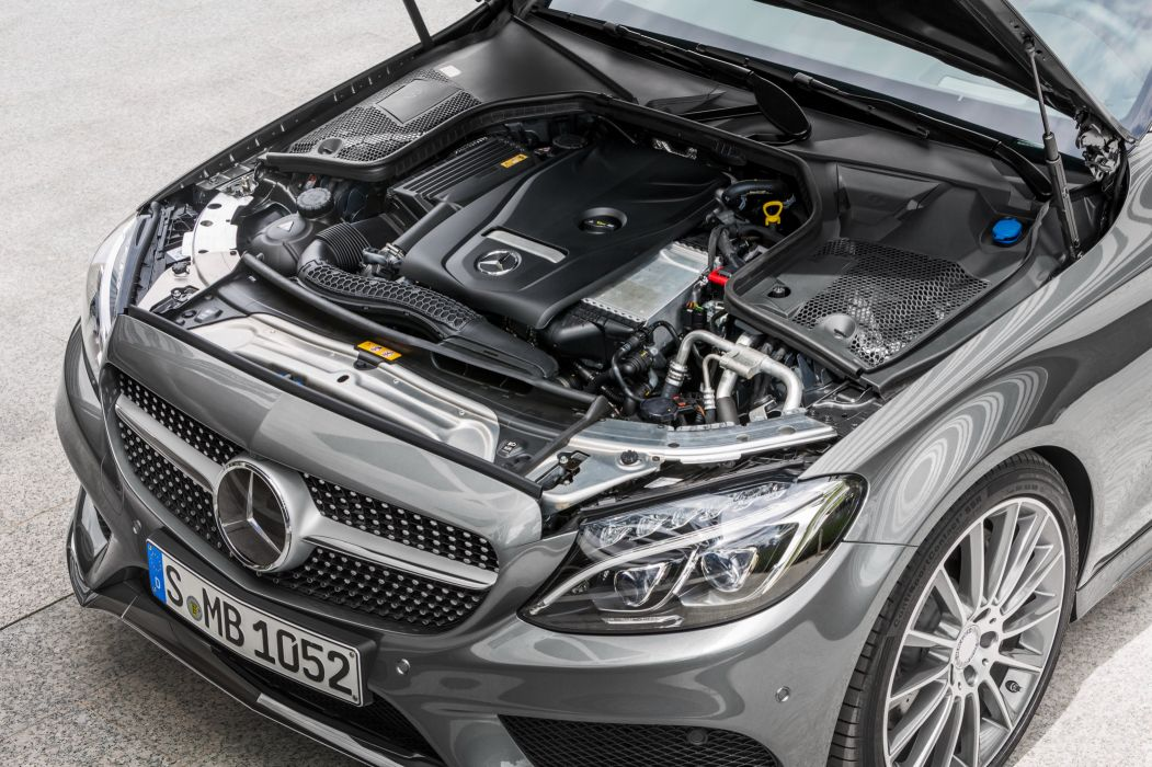 2017 Mercedes Benz C300 Coupe AMG C205 luxury wallpaper