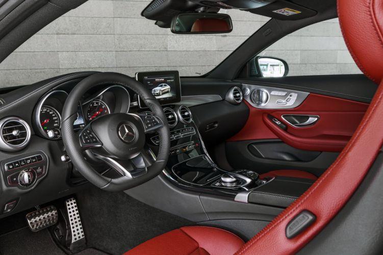 2017 Mercedes Benz C300 Coupe AMG C205 luxury wallpaper