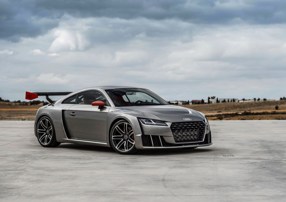 2016 Audi T-T clubsport turbo concept 8-S supercar wallpaper