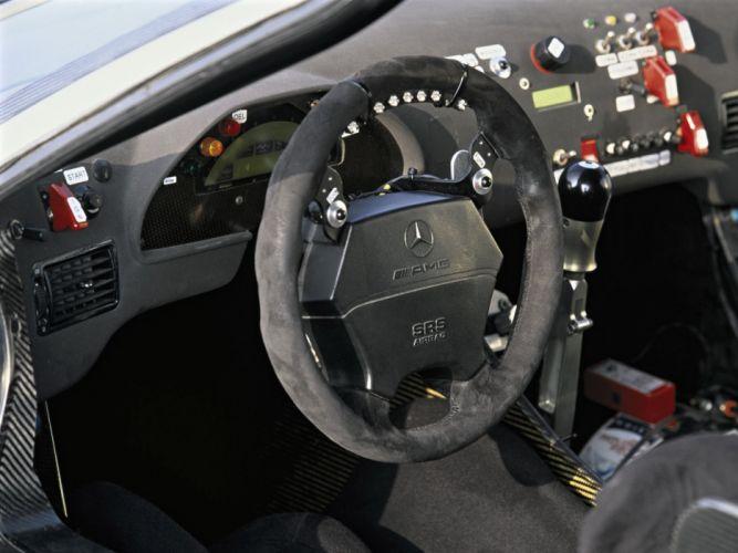 1997 Mercedes Benz CLK GTR AMG Racing race rally wallpaper