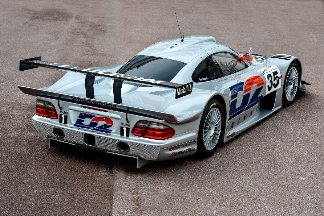 1997 Mercedes Benz CLK GTR AMG Racing race rally wallpaper ...