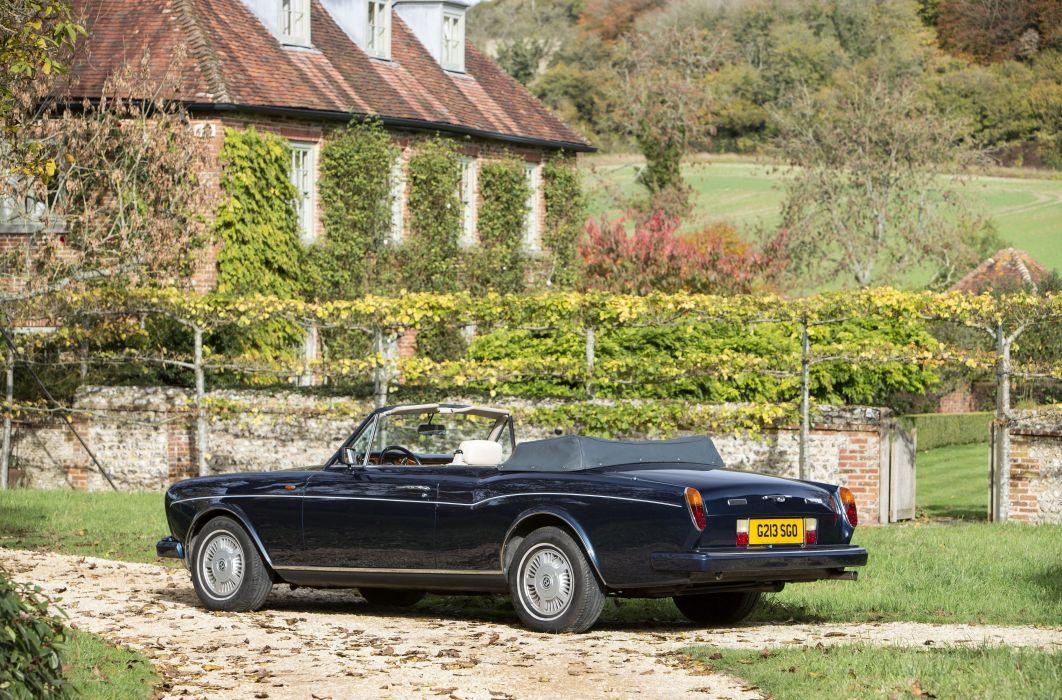1990 Bentley Continental Convertible luxury wallpaper