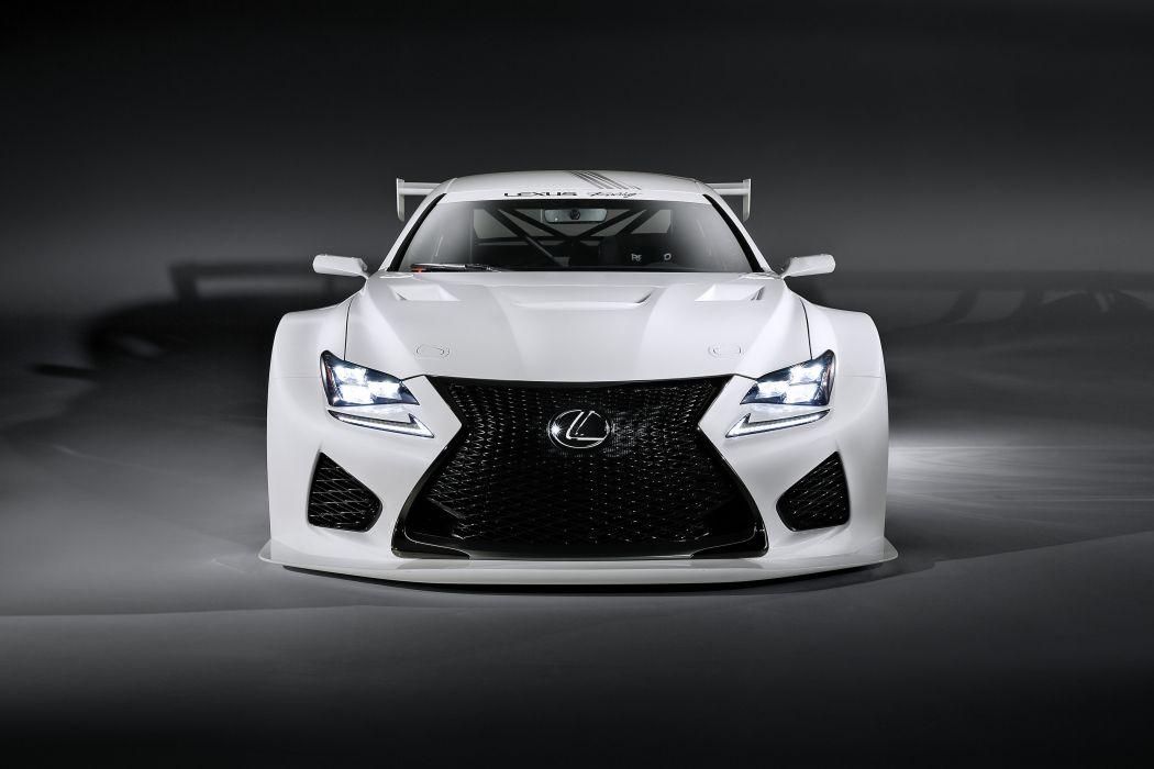 2014 Lexus RCF GT3 Concept race racing tuning wallpaper