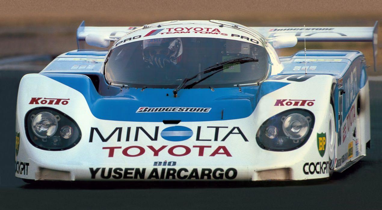 1989 Dome Toyota 89C-V lemans le-mans race racing wallpaper