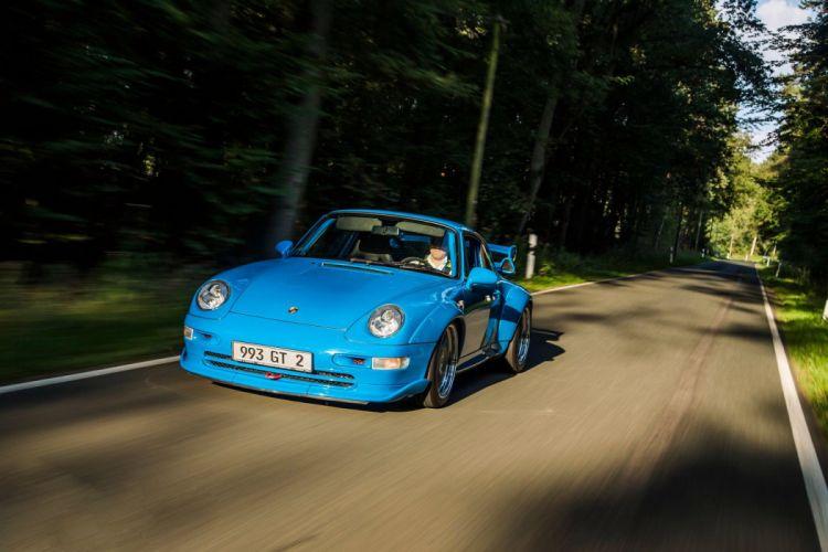 1995-97 Porsche 911 GT2 993 supercar wallpaper